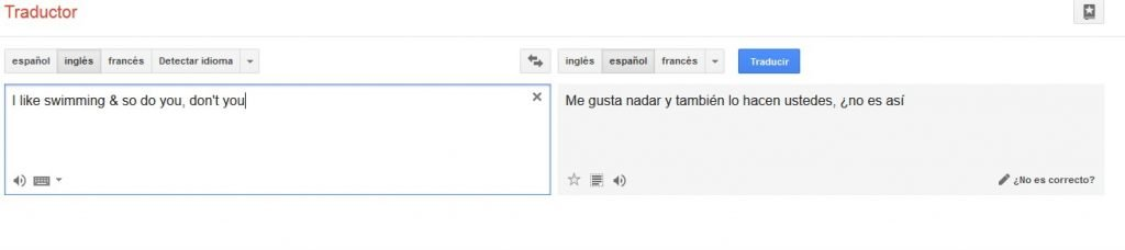 translate fail